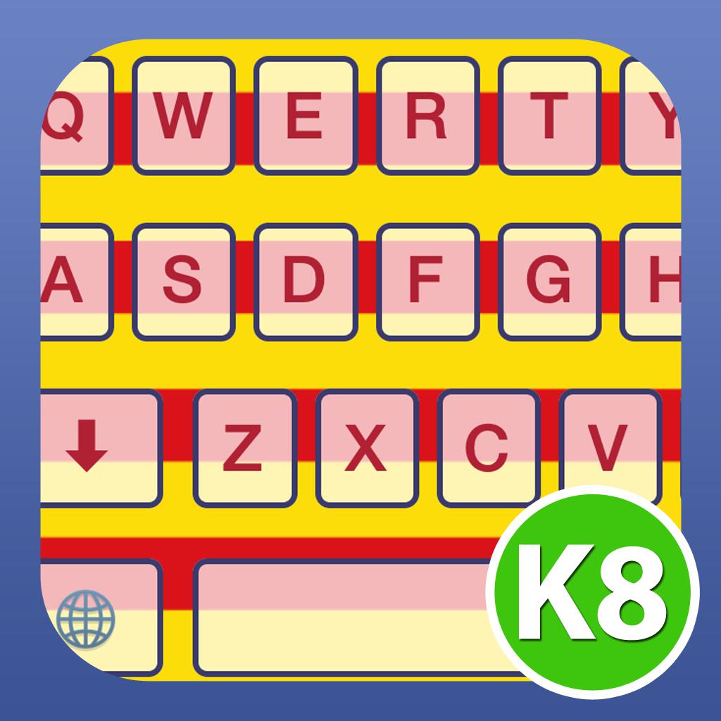 K8 Teclat Català